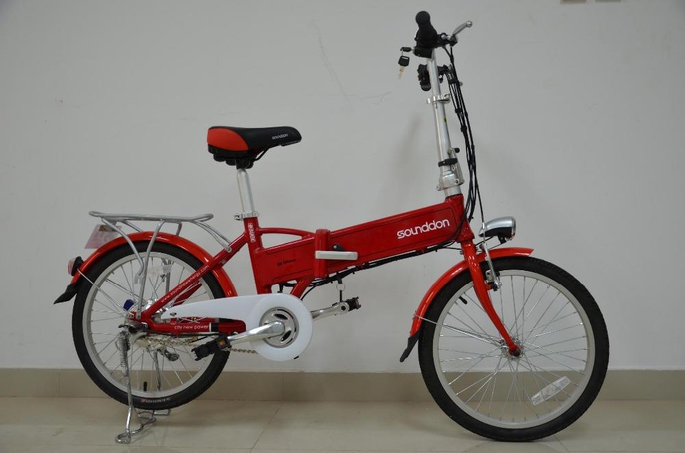Free shipping 36V 8Ah li Ion battery E Bike 240W 8 fun rear wheel motor Fast