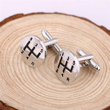 Buy JM Christmas Gift 1.8*1.8cm Automobile Transmission Gear Cufflinks Mens Shirt Alloy Cuff Buttons Cuff Links Man Jewelry for $1.41 in AliExpress store