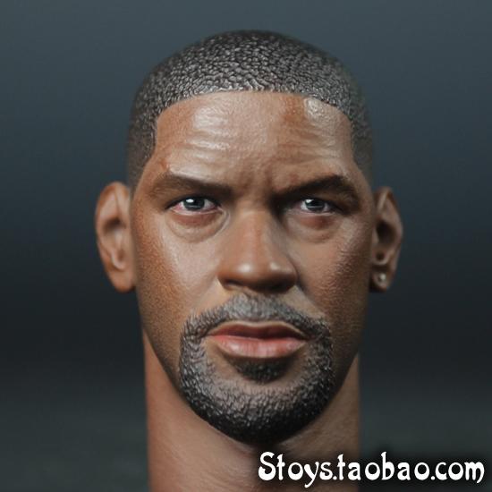 New! SUPER DUCK 1/6 head sculpt NO. H005 the book of eli Denzel Washington 1:6 scale head sculpt(China (Mainland))