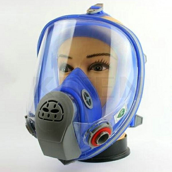 For 6800 Silicone Gas Mask Full Facepiece Respirator Painting Full Face Spraying Mask Free Shipping(China (Mainland))
