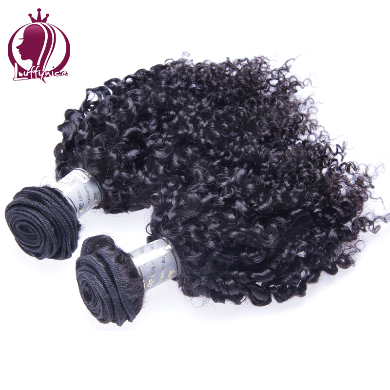 Brazilian Bouncy Curly Virgin Hair 3pcs Lot Brazilian Virgin Hair Curly Luffy Nice Hair Company Human Hair Weave Bundles<br><br>Aliexpress