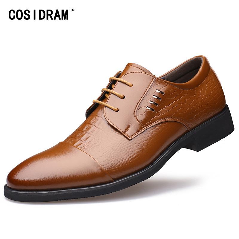 2016 Fashion Pointed Toe Men Flats Faux Leather Men Oxfords Lace-Up Business Men Shoes Wedding Shoes Men Dress Shoes RMC-001(China (Mainland))
