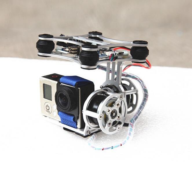 Super Light version (only 160g) Brushless Camera Gimbal w/Motors &Controller RTF for DJI Phantom Gopro3 2 FPV Aerial Photography(China (Mainland))