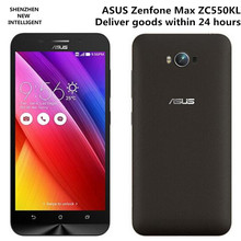 Zenfone Max ZC550KL Mobile Cell Phone 4G LTE Snapdragon 410 MSM8916 Quad core 5.5inch IPS HD 2GB 16GB Android 5.0 13MP Dual Sim