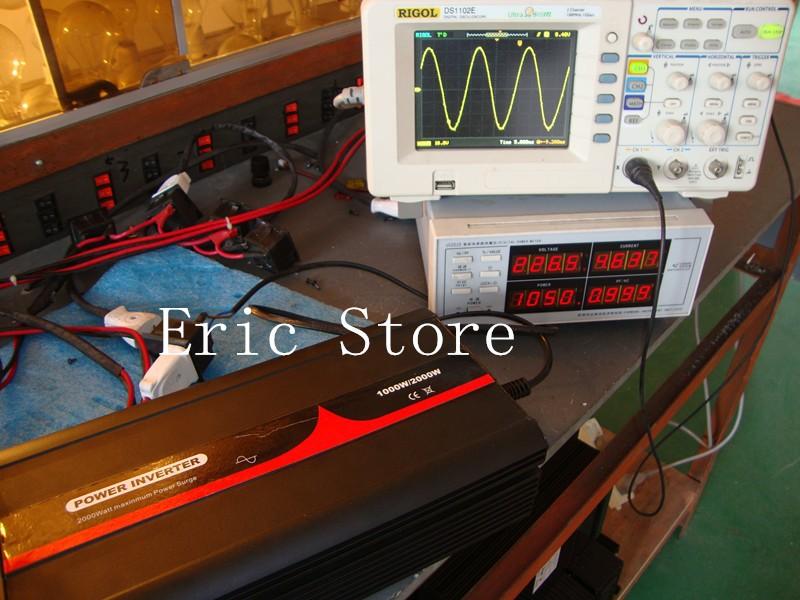 TOP Quality!!Off Grid Inverter Solar Power Inverter Pure Sine Wave Inverter 1000W 12v 220v (CTP-1000W)(China (Mainland))