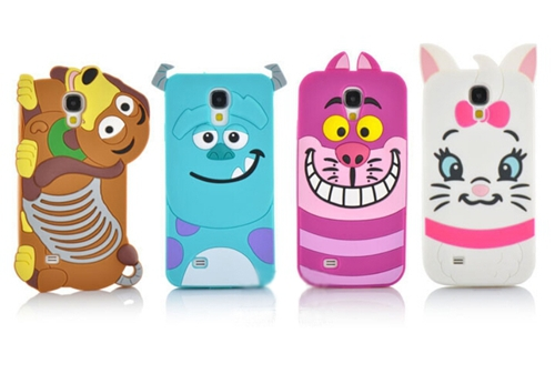New cartoon Monster university/Cat/dog shape back covers case for Samsung Galaxy S4 i9500 cartoon case mobile phone case SJ8005(China (Mainland))