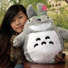 Buy anime TV figure 60 cm Totoro plush toy 23 inch throw pillow soft doll gift w3198 for $20.91 in AliExpress store