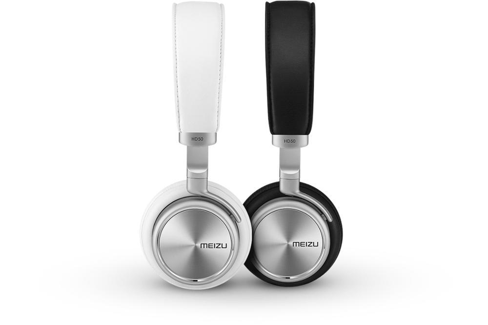 100% Original Meizu HD50 Headphones Aluminium Alloy Shell Earphones Headhand HIFI Mp3 Stereo Bass HIFI Headset Earphone