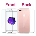 Front Back Tempered Glass for iPhone 7 6 6S 5 5S SE 4 4S 7 Plus