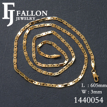 wholesale and retail 18k yellow gold necklaces chanis jewelry /factory direct sell 1440054