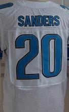 Best quality jersey,Men's 9 Matthew Stafford 20 Barry Sanders 81 Calvin Johnson elite jersey,White,Blue,Size M-XXXL(China (Mainland))