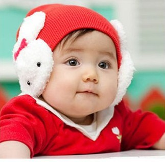 2015 Promotion Special Offer Character Unisex Cotton Hats For Children Fotografia Baby Cap Ear Protector Cap Style Hat Baby 4(China (Mainland))