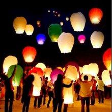 1PCS Christmas SKY Balloon Kongming Wishing Lanterns Chinese Kongming Lanterns Flying Light for Wedding Birthday Party(China (Mainland))