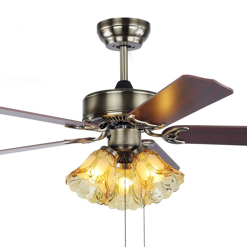 Decorative ceiling fans for