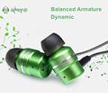 Original URBANFUN In Ear Earphone Balanced Armature Dynamic Hybrid Monitor stereo DIY Earphone Micphone BA