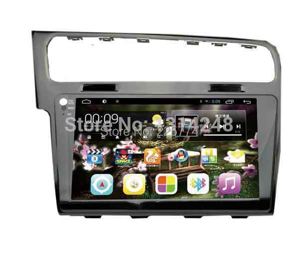 "10.2"" Big screen Android 4.2 Car DVD Navigation For VW GOLF 1080P 1024*600 capacitive touch screen gps player(China (Mainland))"
