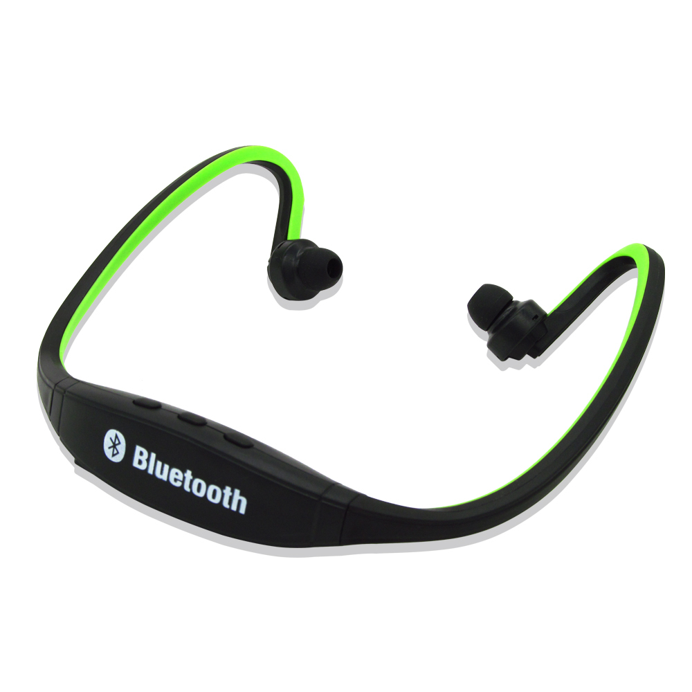 universal sport wireless bluetooth 4 0 earphone headphones headset for android with microphone. Black Bedroom Furniture Sets. Home Design Ideas
