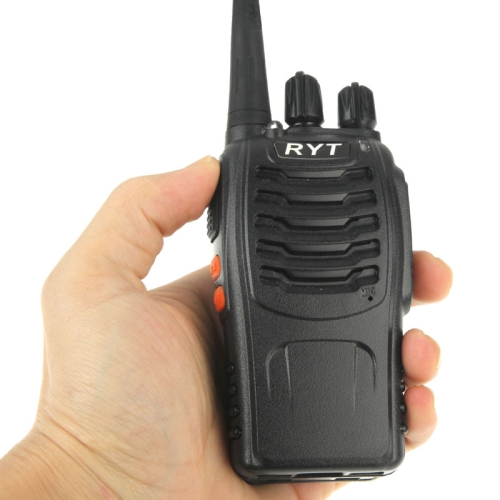 RYT TC-390 Portable Radio Walkie Talkie Retevis UHF 400-470 Mhz 5W 16CH Two Way Radio FM Transceiver(China (Mainland))