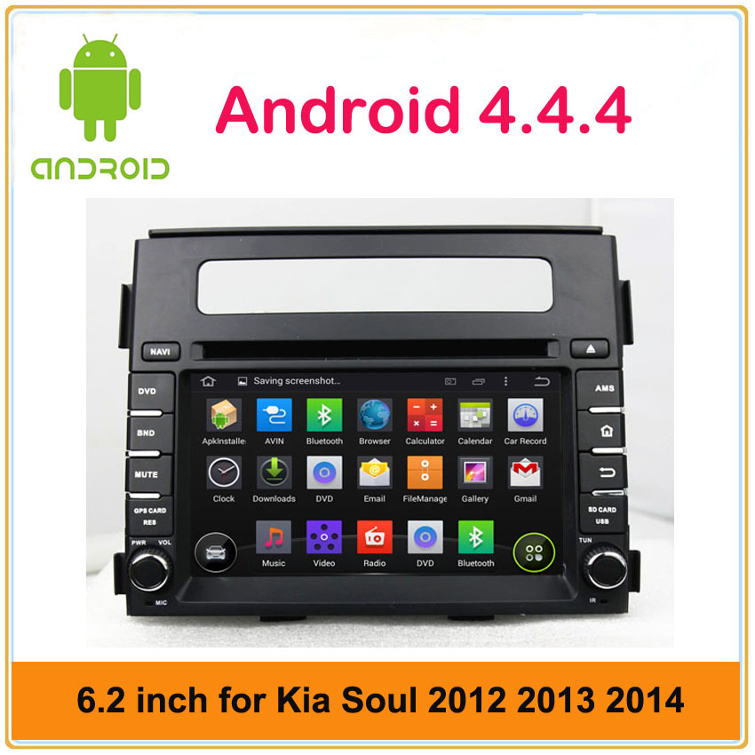 Pure android 4.4 capacitive multi-touch screen car multimedia player for kia Soul 2012 2013 with 3G, WIFI, DVR,OBD functions(China (Mainland))