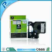 Compatible dymo machine DYMO label tape 9mm black on white D1 tape for dymo label makers 40913
