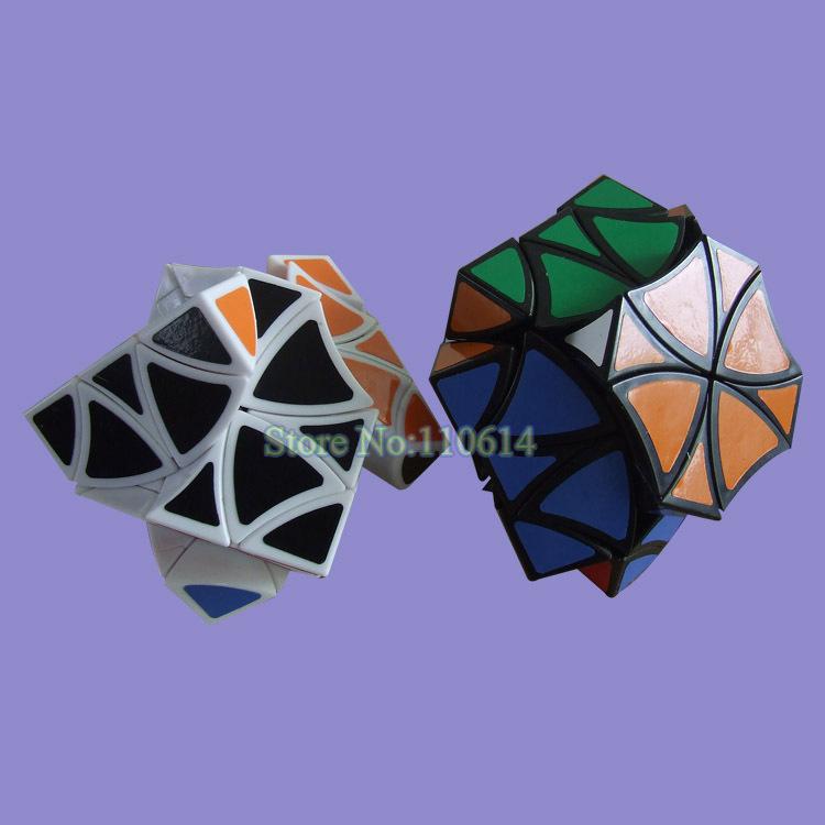 livraison gratuite vente chaude lanlan sixteen polyhedron fleur enfants cube magique jouet dans