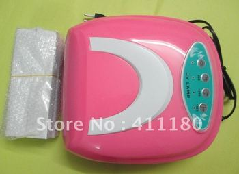 Free shipping! Hot sale 36W 220V Gel Curing Nail UV Lamp Polish Dryer with 4pcs 9W UV Light Bulb style KT838