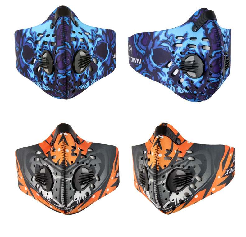 Braga Cuello Sport Face Mask Outdoor Ski Ride Bike Neoprene Bicycle Cycling Motorcycle Carbon Protective Filter Thermal Masks(China (Mainland))
