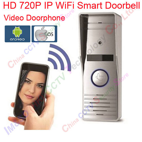 Видеодомофон WiFi 1.0mp HD