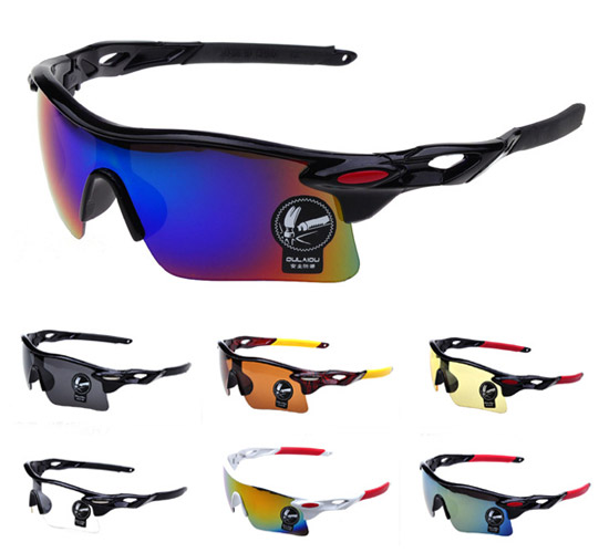 Men Cycling Glasses UV400 Outdoor Sports Windproof Eyewear Women Mountain Bike Bicycle Motorcycle Glasses Sunglasses(China (Mainland))