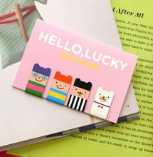 1 PCS Relaxed Bear Chick Rabbit Metal Bookmark Clip Large Cartoon Paper Needle(China (Mainland))