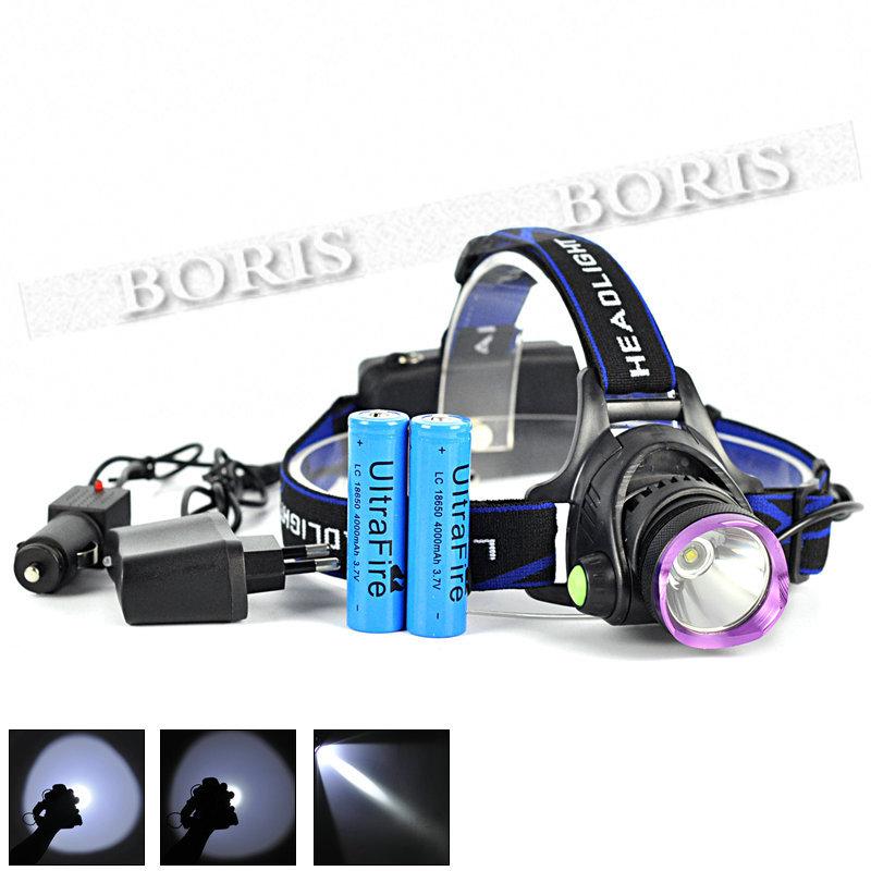 Налобный фонарь Brand New xm/lt6 + AC 2 * 18650 EHL0171 налобный фонарь sunree l40 ipx8 4led