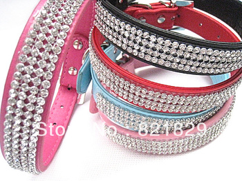 2013 Fashionable Pet Product,Best-seller Pet Collar, High-quality Dog Collars and Leads, With Dazzling Rhinestone Puppy Product