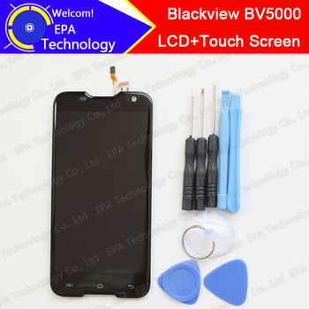 100% Original Blackview BV5000 LCD Display + Touch Screen  1280X720 5.0inch Assembly For Blackview BV5000+tools