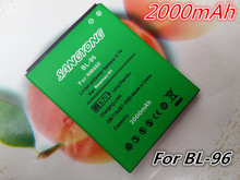 2015 Business 2000mAh Larger Capacity BatteryAccumulator BL-96 for Newman N1 NM860 NM850 Phone Free Ship Fast + Track Number(China (Mainland))