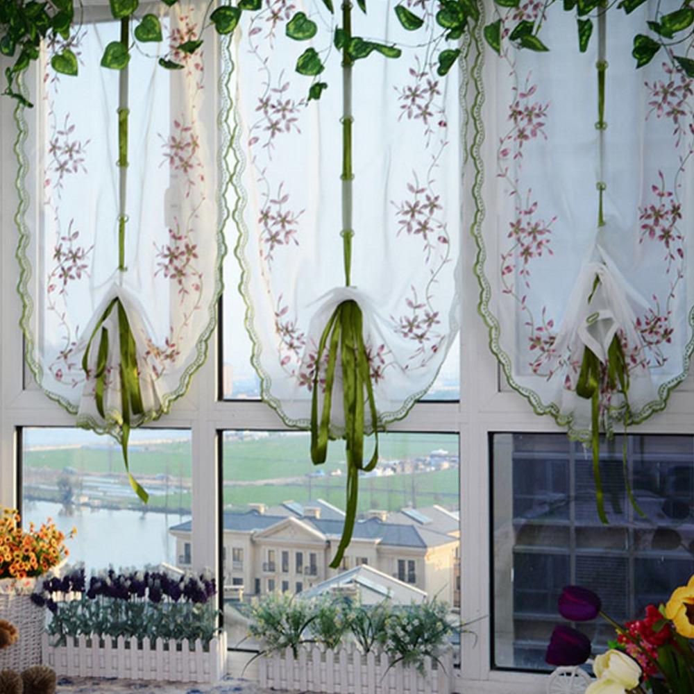 Vergelijk prijzen op sheer kitchen curtains   online winkelen ...