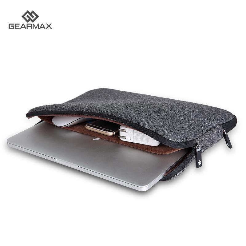 13 Inch Gearmax Laptop Bag for Macbook 11 12 13 Case Felt Sleeve For Macbook Pro 15 Retina Laptop Sleeve Men's Computer Bag 14(China (Mainland))
