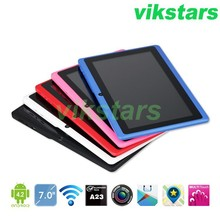 7 inch android tablet+A33 Quad core tablet+android 4.4+4G+dual camera+WIFI+bluetooth+OTG capacitive screen Intelligence(China (Mainland))