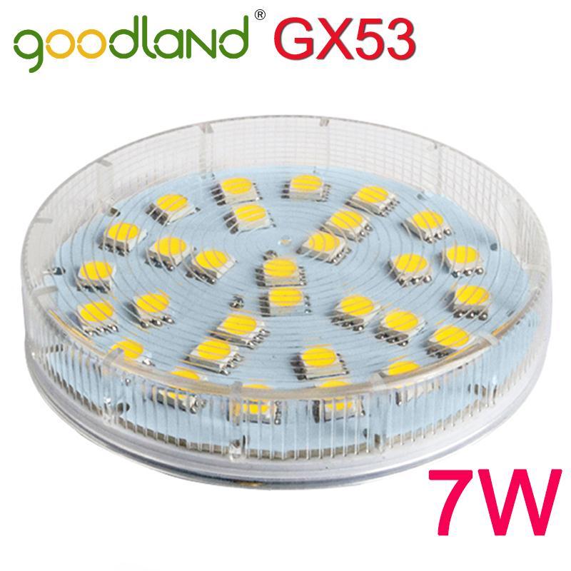 Гаджет  Goodland New GX53 LED Lamp 7W SMD5050 LED Cabinet Light LED Bulb Lamp AC 220V 230V 240V High brightness Lampada Bombillas None Свет и освещение
