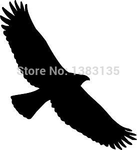 Tribal Eagle Bird Hawk Car Sticker For Truck Window Bumper font b Auto b font Door