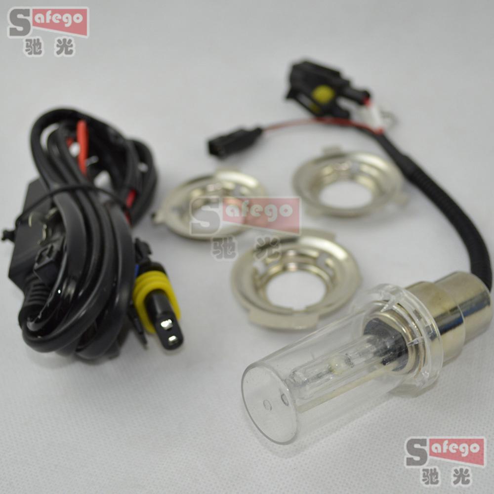 1pcs H4 H6 Motorcycle Hid xenon headlight bulbs replacement BA20D Hi/Low Bicycle Bike headlamp lamp Fog Light 12V 35W(China (Mainland))