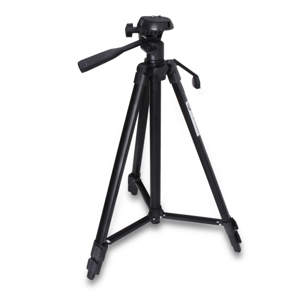 """53"""" Professional Photo/Video Camera Compact With Flexible Tripod Stand For Canon/Nikon/Sony/Digital DSLR Camera Black(China (Mainland))"""