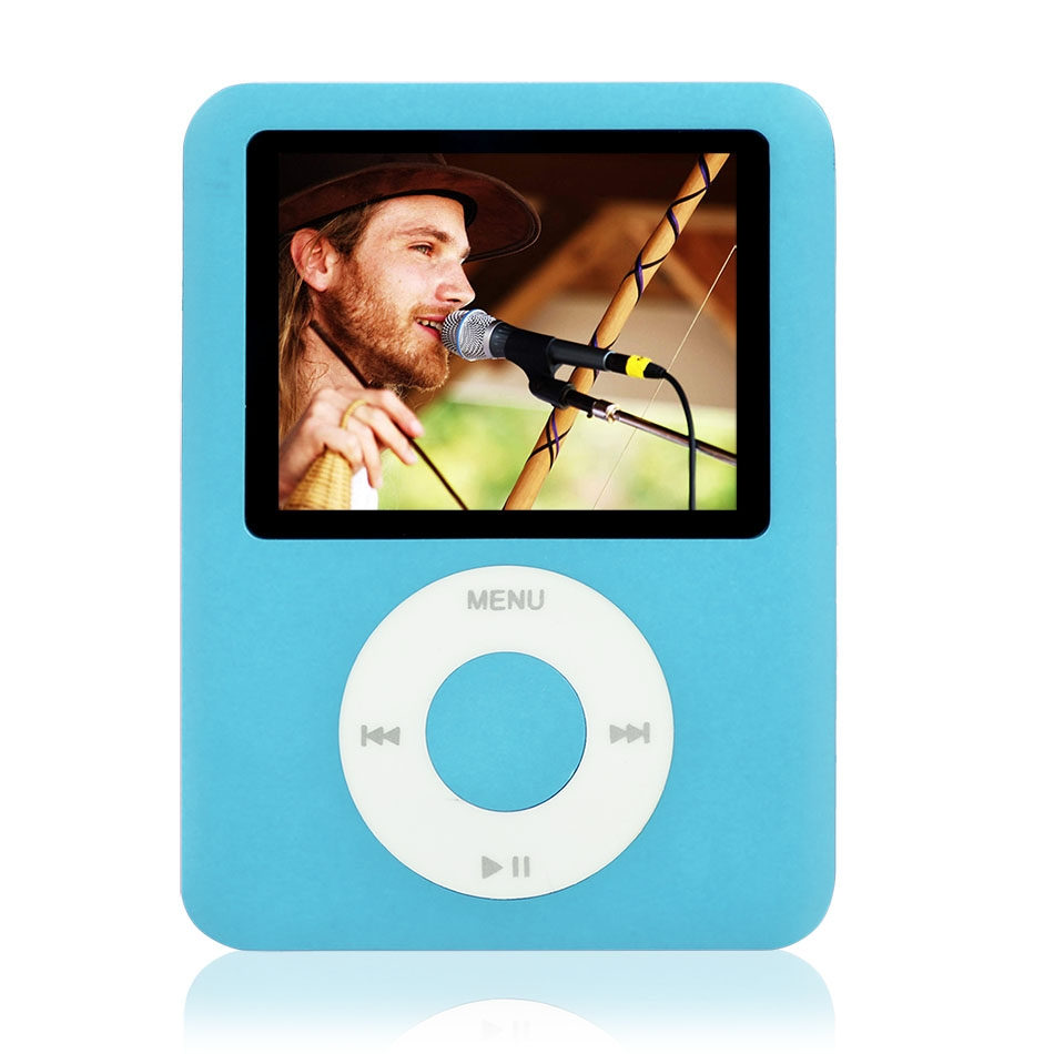 "Brand New 8GB Slim MP4 Player 3th 1.8 inch 1.8"" Digital LCD Screen Music FM Radio Video Game Movie Player Photo Viewer eBook(China (Mainland))"