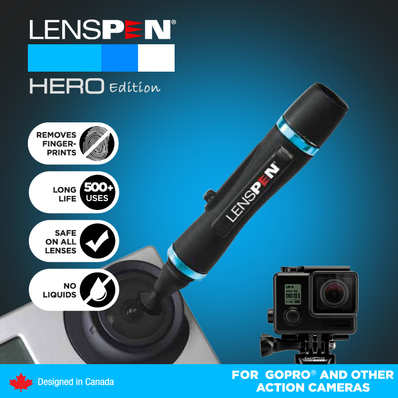 1Pcs High Quality Brand Black Camera Lens Cleaning Pen Lenspen Dust Cleaning Genuine Lens Pen(China (Mainland))