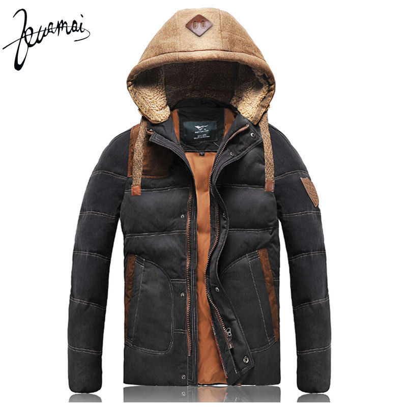 ZM1 2015 New 90% White Duck Down Winter New Thick Warm Down Jacket Quality Outdoor Sports Casual Winter Jacket Men XXL, XXXL(China (Mainland))