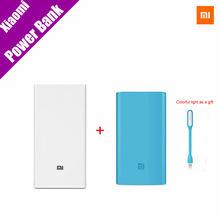 Оригинал Xiaomi Mi Power Bank 20000 MI мАч Новый Портативный Мобильный Банк Питания Зарядное Устройство 20000 мАч Dual USB Для Телефона, нетбук(China (Mainland))