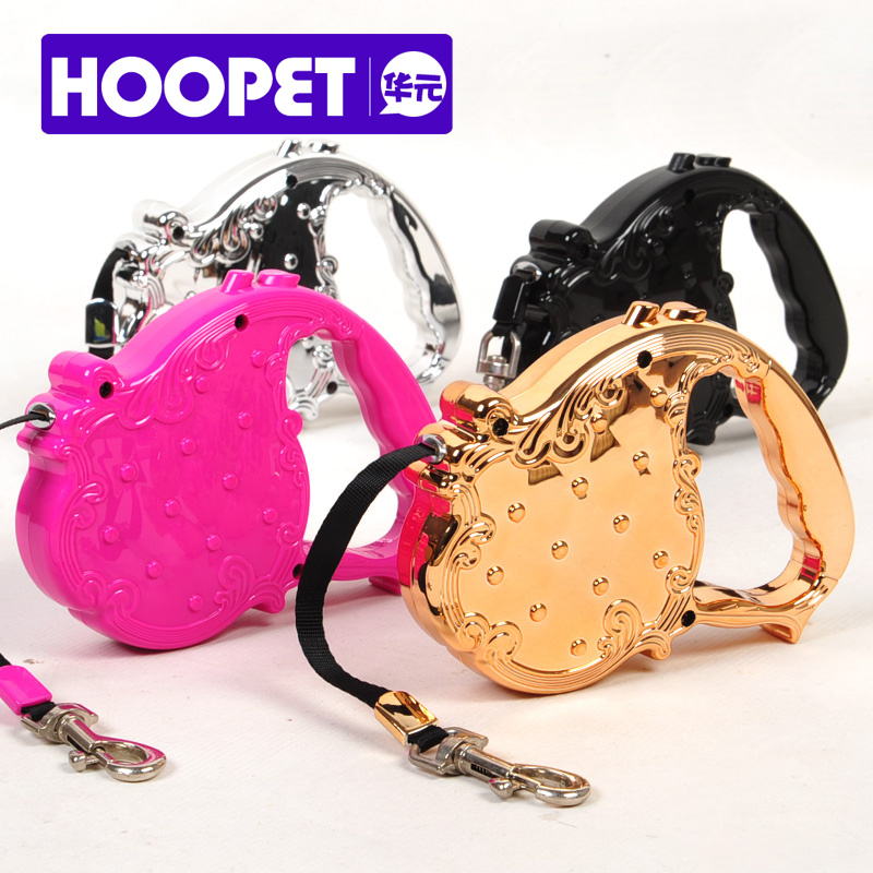 wholesaler hot sell Hoopet Dog traction rope, dog rope, pet automatic retractable 3 meters/25kg pulling force pet leash(China (Mainland))