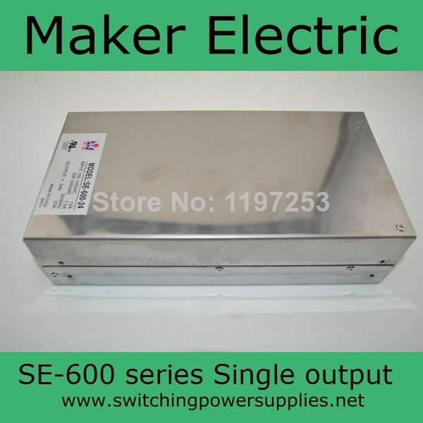 Factory outlet 600W SE series power supply 12v 600w SE-600-12<br><br>Aliexpress