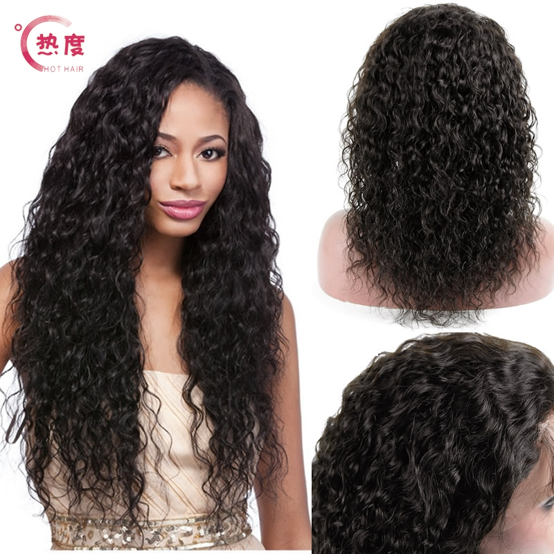 Glueless Full Lace Human Hair Wigs Top Grade Virgin Hair Lace Front wig 8-24 Full Lace Human Hair Wigs For Black Women<br><br>Aliexpress