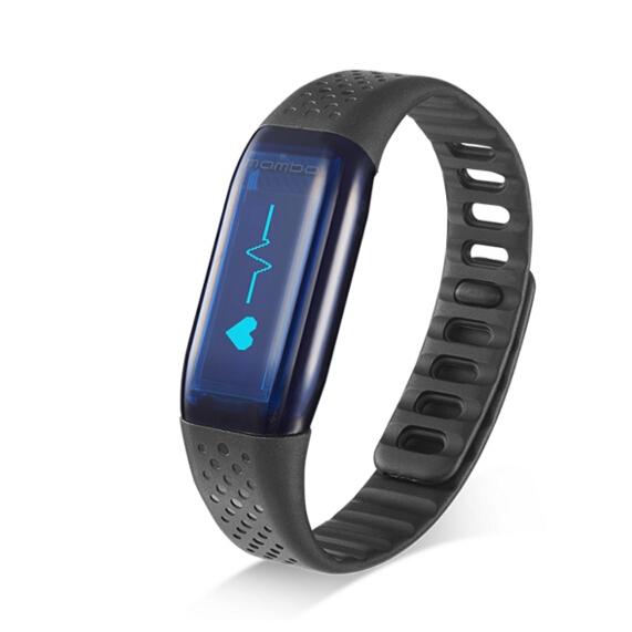 Original Lifesense Wristband MAMBO HR Heart Rate Monitor Smart Wristband Bracelet for Android&iOS Passometer Fitness Tracker(China (Mainland))
