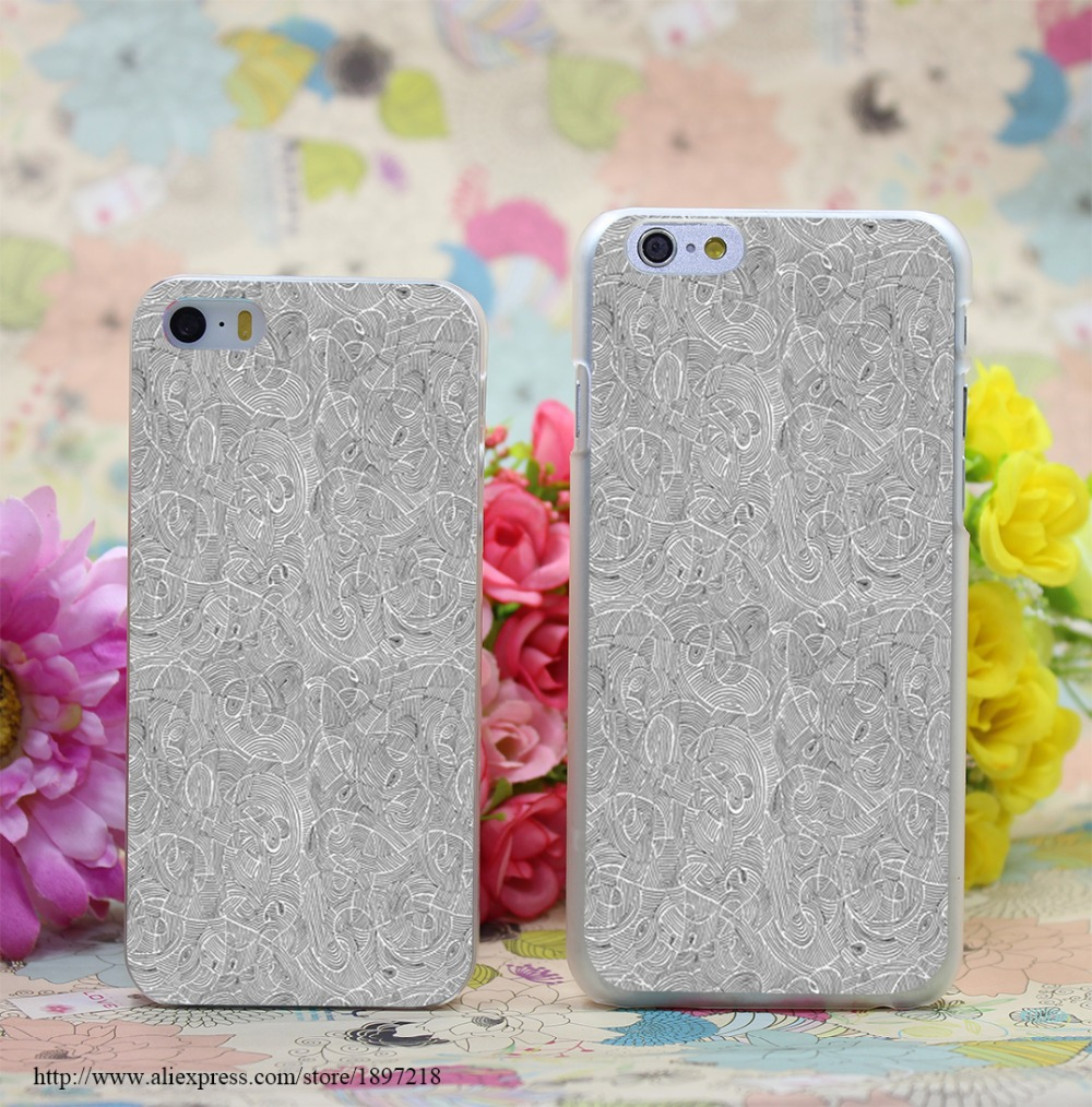 826W Currents Transparent Hard Case Cover for iphone 6 6s plus 4 4s 5 5s 5c Clear Phone Cases(China (Mainland))